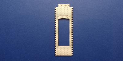 LCC 72-04 O gauge single square window panel type 1